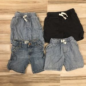 Carter's Boys Shorts - Bundle of 4